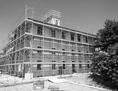 The Tenuta Villa Boemia was restructured in 2017